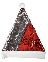 Christmas Hat / Nikolaus Mütze mit Pailletten